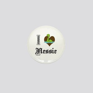 I [HEART] NESSIE Mini Button